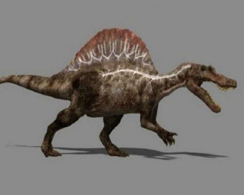 スピノサウルス 生息地