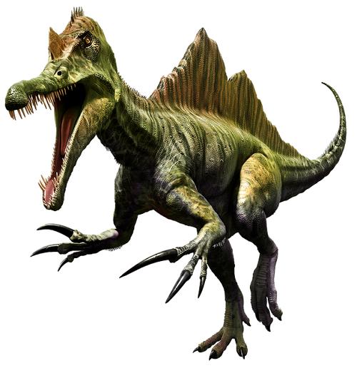 スピノサウルス 英語 発音